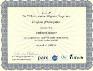 Scan of DX09 participation certificate