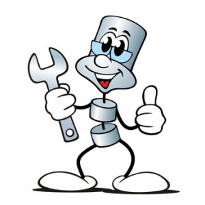 Cartoon figure with tool; (c) Fotolia.com, jokatoons, 18630969 (adapted)