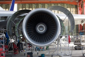 opened aircraft engine in the hangar, (c) Fotolia.com, Ferenc Szelepcsenyi, 4044798
