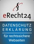 eRecht24, Siegel Datenschutzerklärung