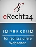 eRecht24, Siegel Impressum