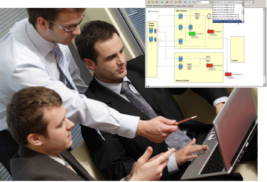 Collaborating in virtual Engineering; (c) Fotolia.com, endostock, 1872294 (adapted)