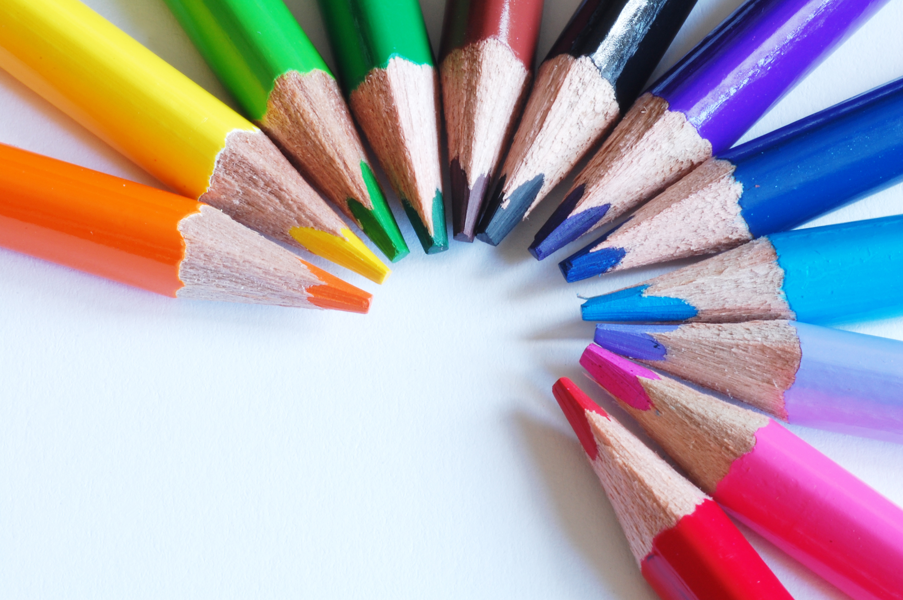 colored pencils, (c) Fotolia.com, cristinaduart, 34354906