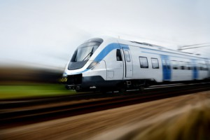Fast train with motion blur, (c) Fotolia.com, Mikael Damkier, 5081096