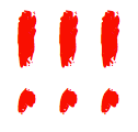 3 red exclamation marks