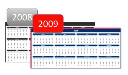 calendar 2008/2009