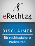 eRecht24, Siegel Disclaimer