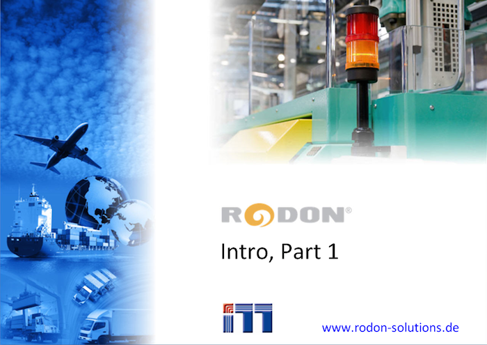 RODON Intro Video 1, title page